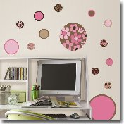 Girls Wall Dots