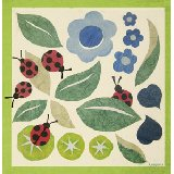 Leaves and Ladybugs Wall Canvas Art