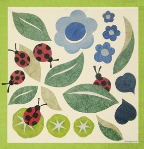 Leaves and Ladybugs Canvas Wall Art - Wall Sticker Outlet