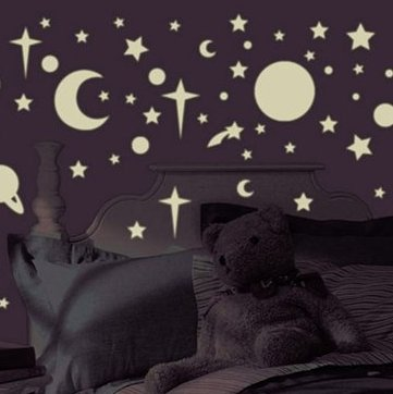 Outer Space Theme Boys Bedroom - Space Wall Decal Stickers