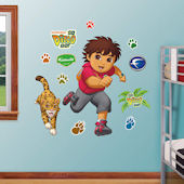 Fathead Go Diego Go Peel and Stick Decal