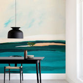 Minted Hawaiian Reef Repositionable Wall Mural
