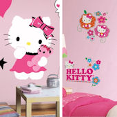 Hello Kitty Decal Room Package #1