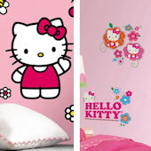 Hello Kitty Decal Room Package #2