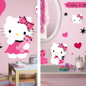 Hello Kitty Decal Room Package #3