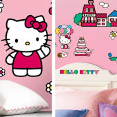 Hello Kitty Decal Room Package #4