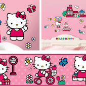 Hello Kitty Decal Room Package #5