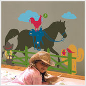 Home on the Range Giant  Wall Stickers