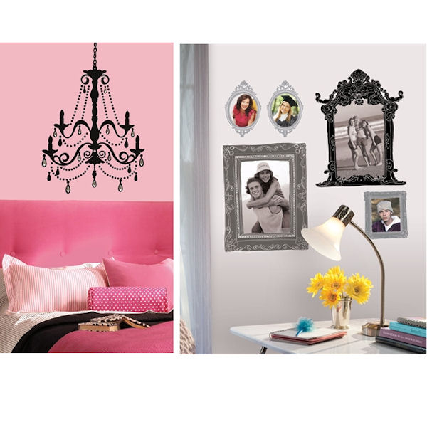Chandelier and Frames Home Room Package #1 - Wall Sticker Outlet