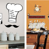Kitchen Theme Decal Room Package #1