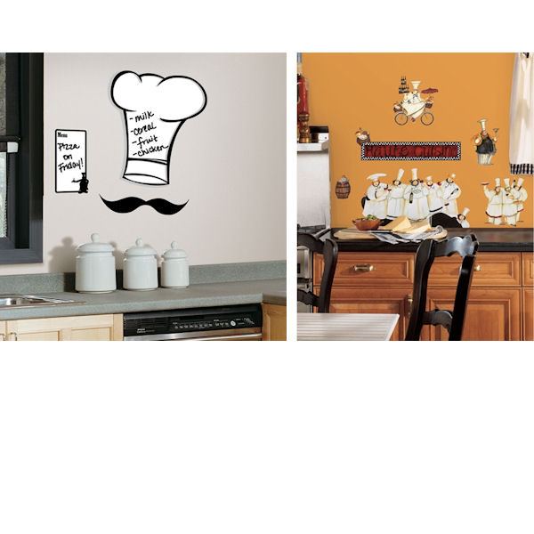 Kitchen Theme Decal Room Package #1 - Wall Sticker Outlet