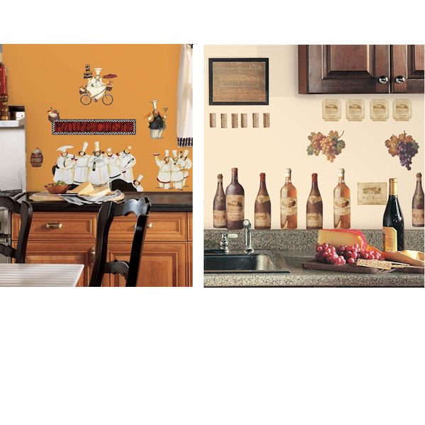 Kitchen Theme Decal Room Package #2 - Wall Sticker Outlet