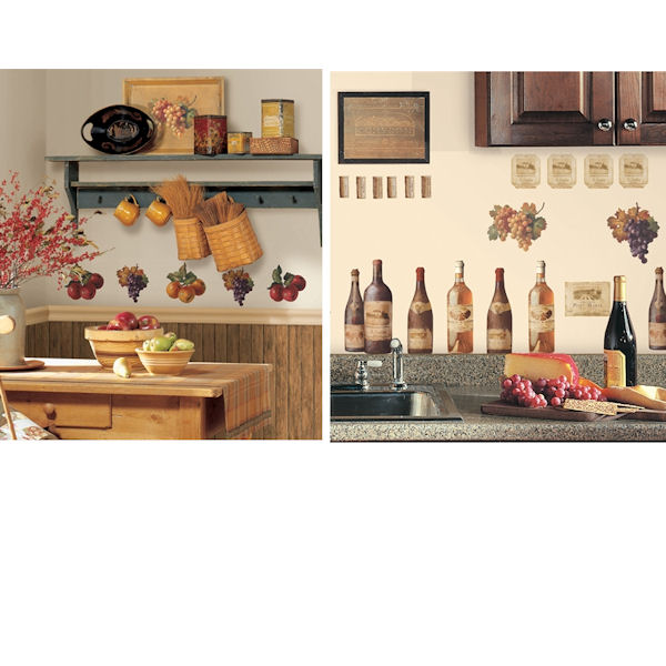 Kitchen Theme Decal Room Package #3 - Wall Sticker Outlet