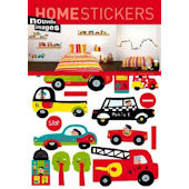 Nouvelles Images Cars and Trucks Wall Decals