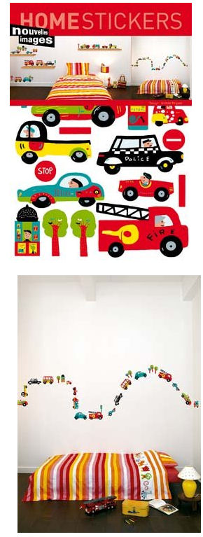 Nouvelles Images Cars and Trucks Wall Decals - Wall Sticker Outlet