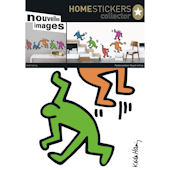 Nouvelles Images 5 Dancing Figures Wall Decals