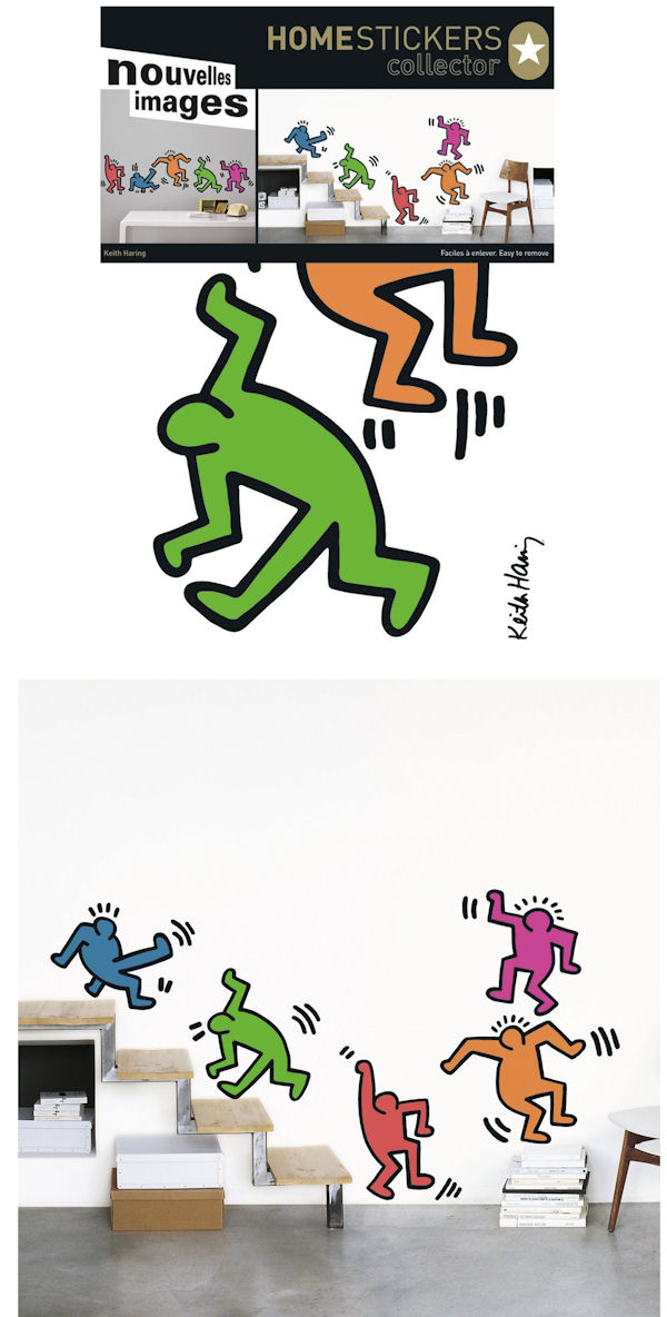 Nouvelles Images 5 Dancing Figures Wall Decals - Wall Sticker Outlet