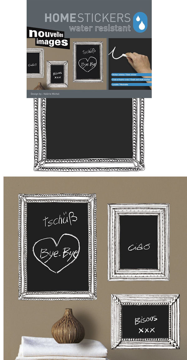 Nouvelles Images Chalkboard Frames Wall Decals - Wall Sticker Outlet
