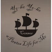A Pirates Life For Me Vinyl Wall Sticker