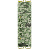 Personalized Military Growth Chart Green Camo