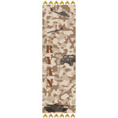 Personalized Military Growth Chart Brown Camo