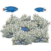 Blue Coral Reef Underwater Decals