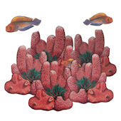 Red Coral Reef Underwater Decals