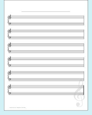 Incrediwall music sheet wall mural sticker for Music to clean to