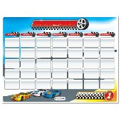 Finish Strong Calender Dry Erase Wall Sticker