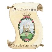 Sherri Blum Princess Scroll  Mural Sticker
