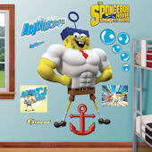 Fathead SpongeBob Invincibubble Wall Decal