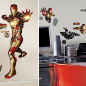Iron Man 3 Decal Room Package #1