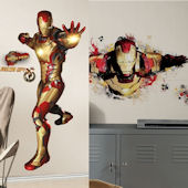 Iron Man 3 Decal Room Package #3