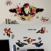 Iron Man 3 Decal Room Package #4