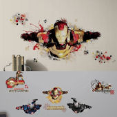 Iron Man 3 Decal Room Package #5