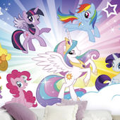 My Little Pony Cloud XL Wall Mural 6.5 X10 Feet Part 75