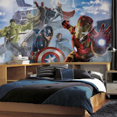 Avengers Age of Ultron Character XL Wall Mural