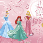 Disney Princess Enchanted XL Mural 6.5 x 10 Ft