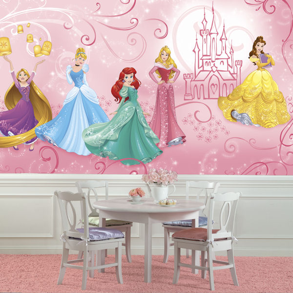 Disney Princess Enchanted XL Mural 6.5 x 10 Ft - Wall Sticker Outlet