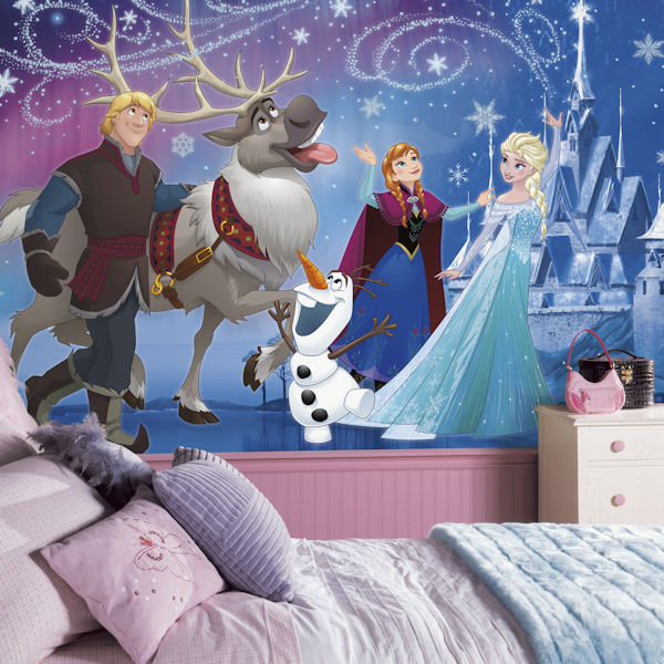 Disney Frozen Magic XL Mural 6.5 x 10 Ft - Wall Sticker Outlet
