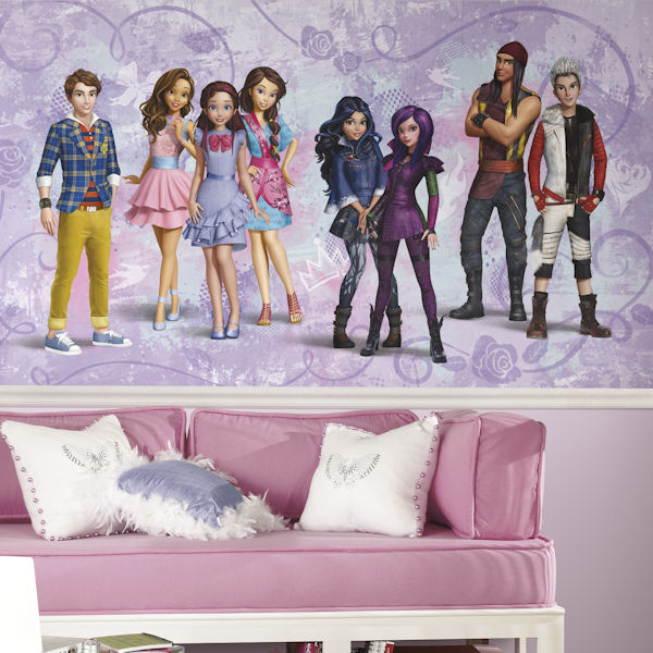 Disney Descendents XL Wall Mural 6.5 x 10 Ft - Wall Sticker Outlet