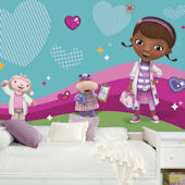 Doc McStuffins XL Wall Mural 6.5 x 10 Ft