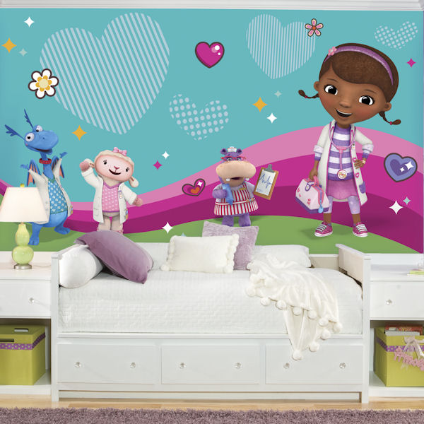 Doc McStuffins XL Wall Mural 6.5 x 10 Ft - Wall Sticker Outlet