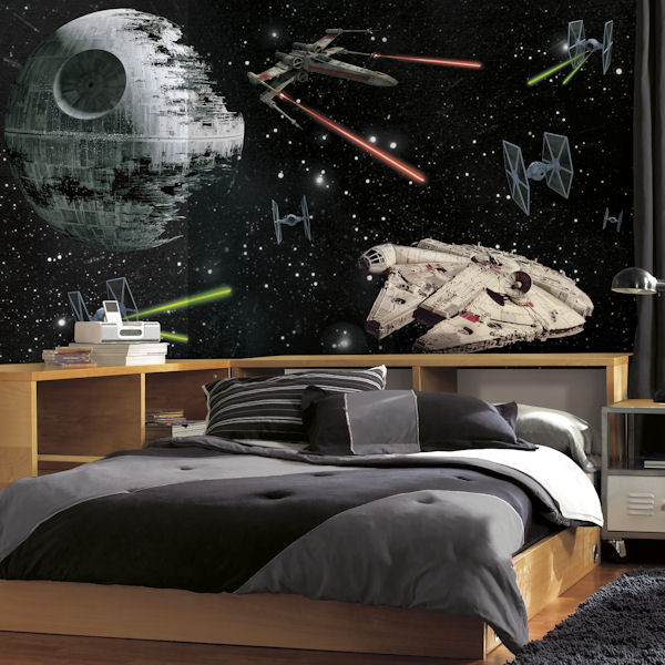 Star Wars Vehicles XL Wall Mural 6.5 x 10 Ft - Wall Sticker Outlet