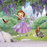 Princess Sofia and Friends XL Mural 6.5 x 10 Ft