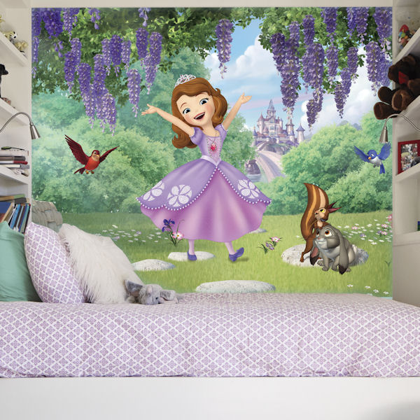 Princess Sofia and Friends XL Mural 6.5 x 10 Ft - Wall Sticker Outlet