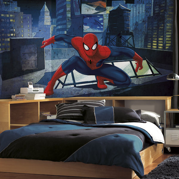Ultimate Spiderman XL Wall Mural 6.5 x 10 Ft - Wall Sticker Outlet