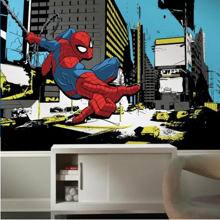 Spiderman Classic XL Wall Mural - Wall Sticker Outlet