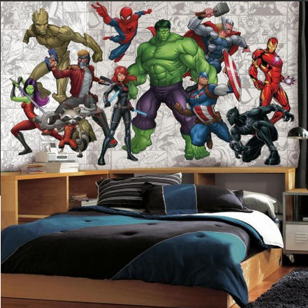 Marvel Hero XL Wall Mural - Wall Sticker Outlet