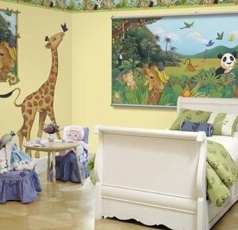 Jungle Bedroom